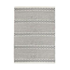 Wełniany dywan Selma Grey, 160x230 cm