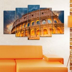 5-częściowy obraz Koloseum