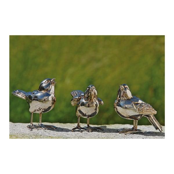 Zestaw 3 dekoracyjnych ptaków Birds