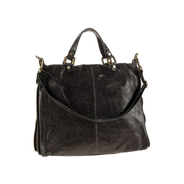 Skórzana torebka Ore Diece Affile, czarna