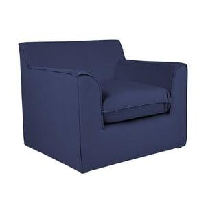 Niebieski fotel BSL Concept Mona