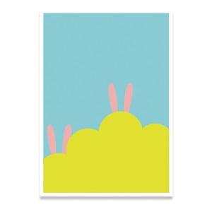 Plakat Hidden Rabbit, A4