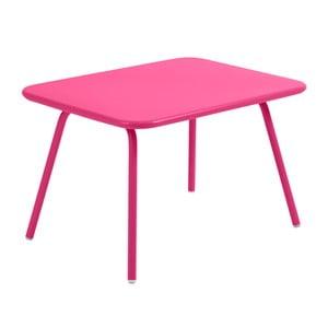 Różowy stół dziecięcy Fermob Luxembourg