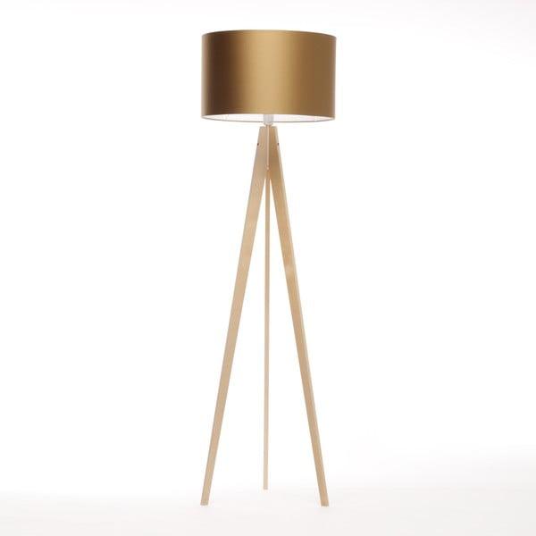 Lampa stojąca Artista Birch/Golden, 125x42 cm