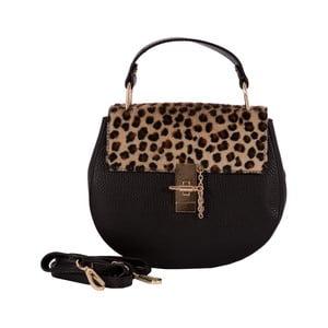 Skórzana torebka Andrea Cardone 3002 Leopard
