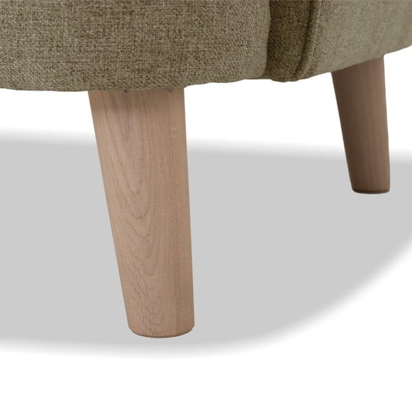 Jasnobrązowa sofa 3-osobowa Vivonita Eden