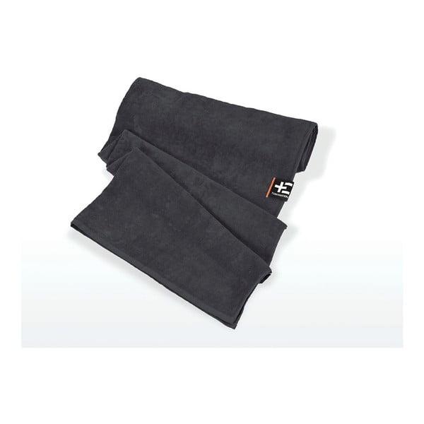 Ręcznik plażowy Kami Moe 80x160 cm, szary