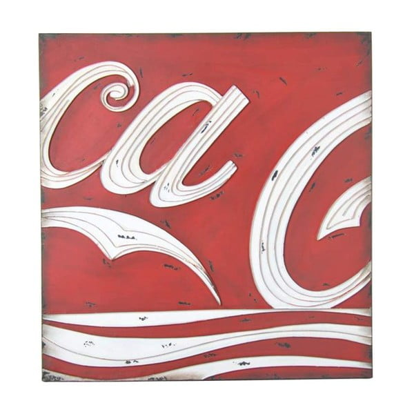 Dekoracja ścienna Coca-Cola