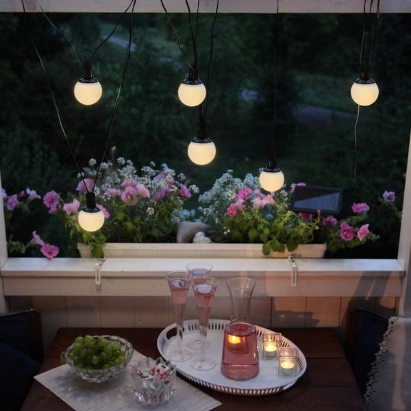 Solarna girlanda świetlna LED Balls Combo, 6 lampek