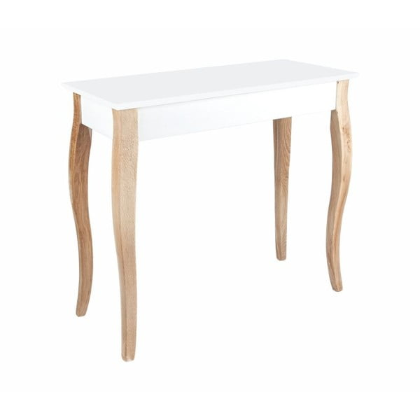 Biała konsola Ragaba Dressing Table 85x74 cm