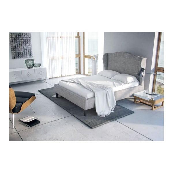 Łóżko Curtis Grey, 140x200 cm