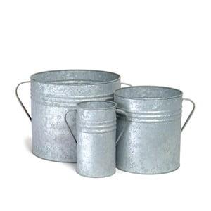 Zestaw 3 doniczek Planters