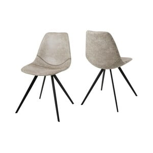 Kremowe krzesło Canett Liva