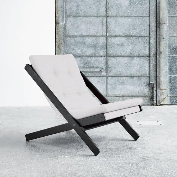 Fotel składany Karup Boogie Black/Natural