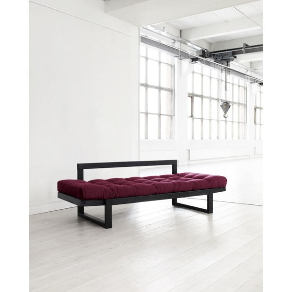 Sofa Karup Edge Black/Bordeaux