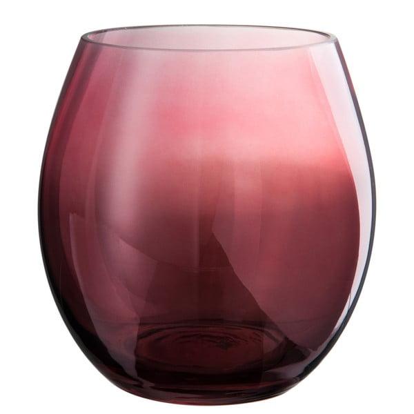 Szklany świecznik Glassy, wysokość 17 cm