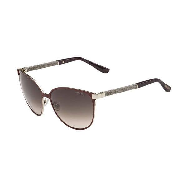 Okulary przeciwsłoneczne Jimmy Choo Posie Gold/Brown