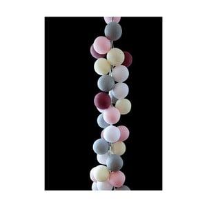 Girlanda świetlna Marshmallow, 50 światełek