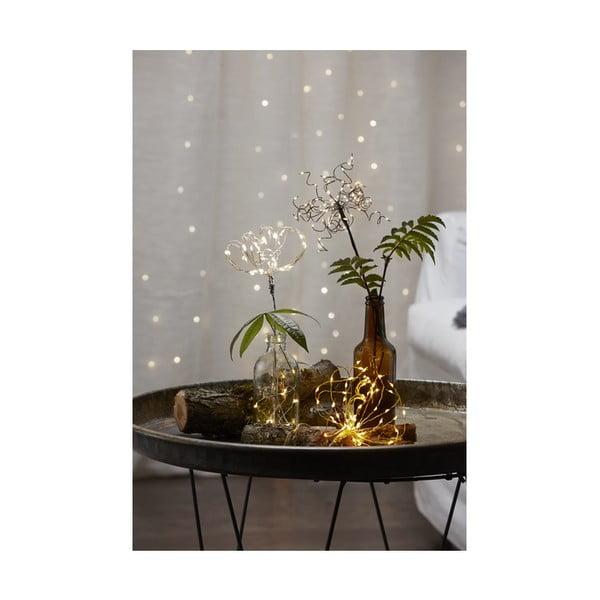Dekoracja świetlna LED Best Season Dew Drop Warm, 60 lampek