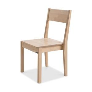 Krzesło wykonane ręcznie z litego drewna brzozowego Kiteen Joki