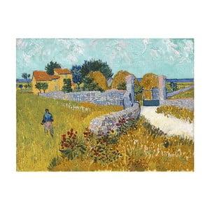 Reprodukcja obrazu Vincenta van Gogha – Farmhouse in Provence, 40x30 cm