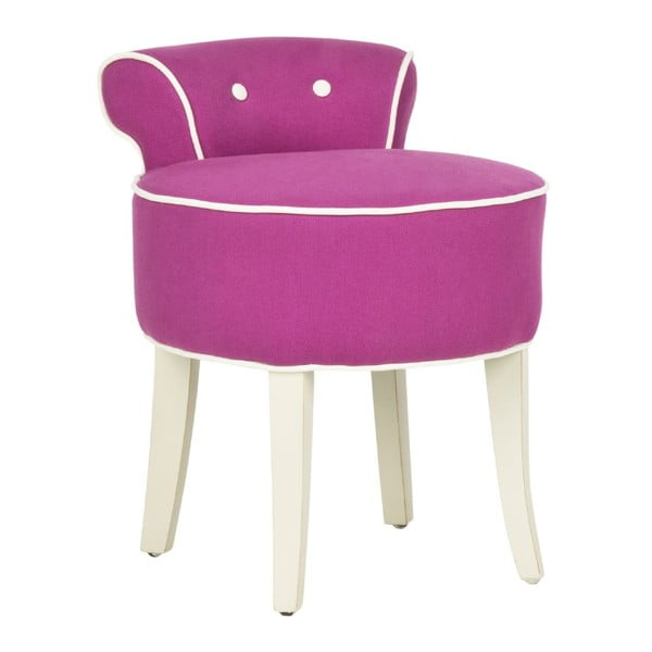 Taboret Emily Pink