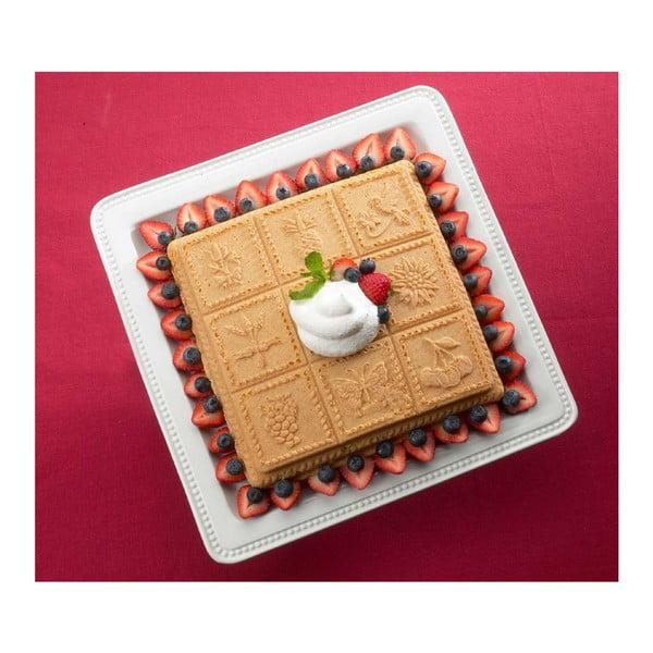 Forma do ciasta z obrazkowymi motywami