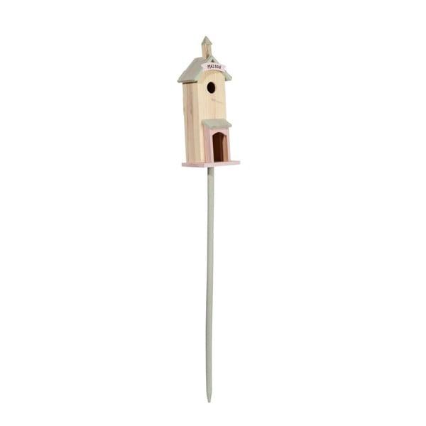 Stojąca budka dla ptaków Pastel, 16x15x135 cm
