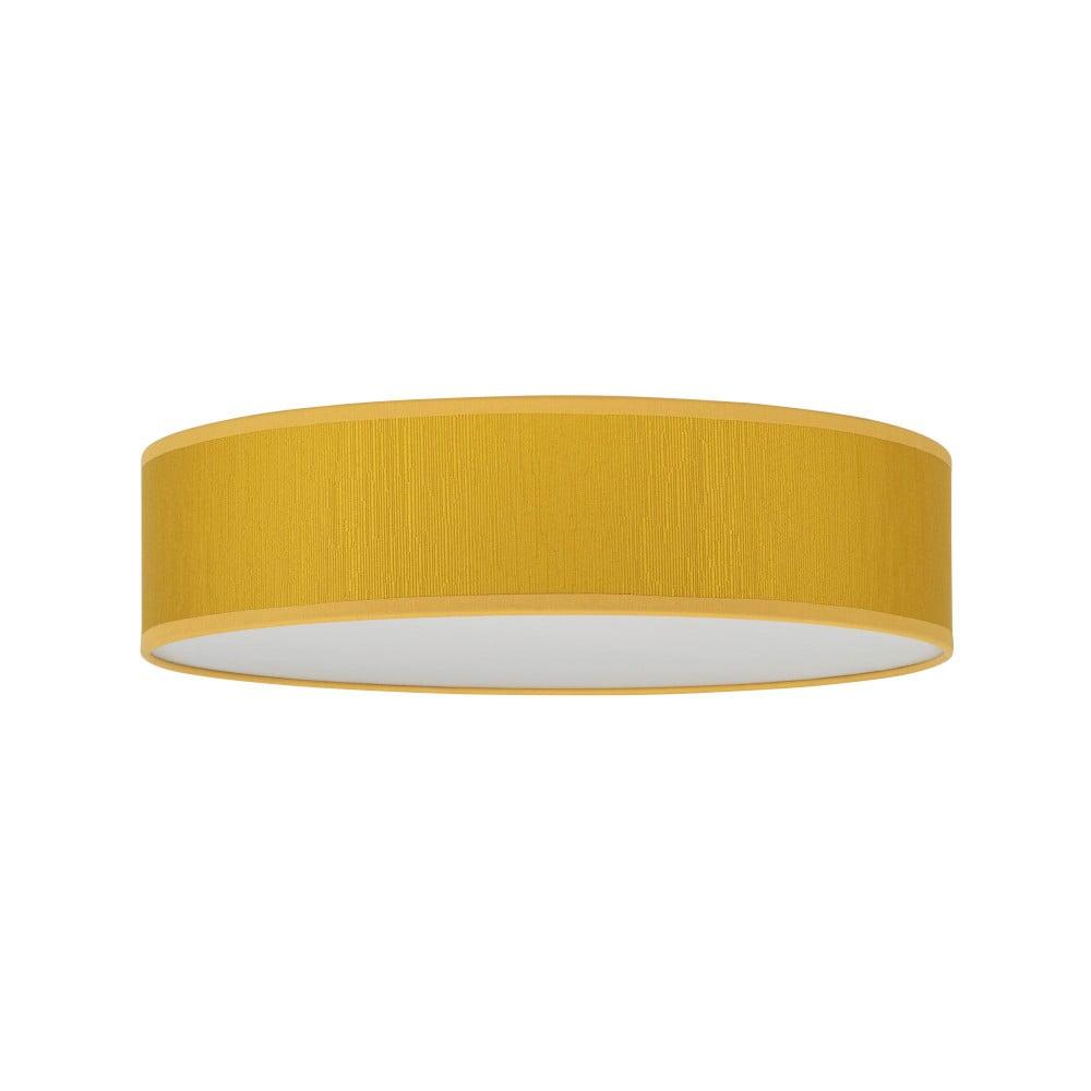 Żółta lampa sufitowa Bulb Attack Doce, ⌀ 40 cm
