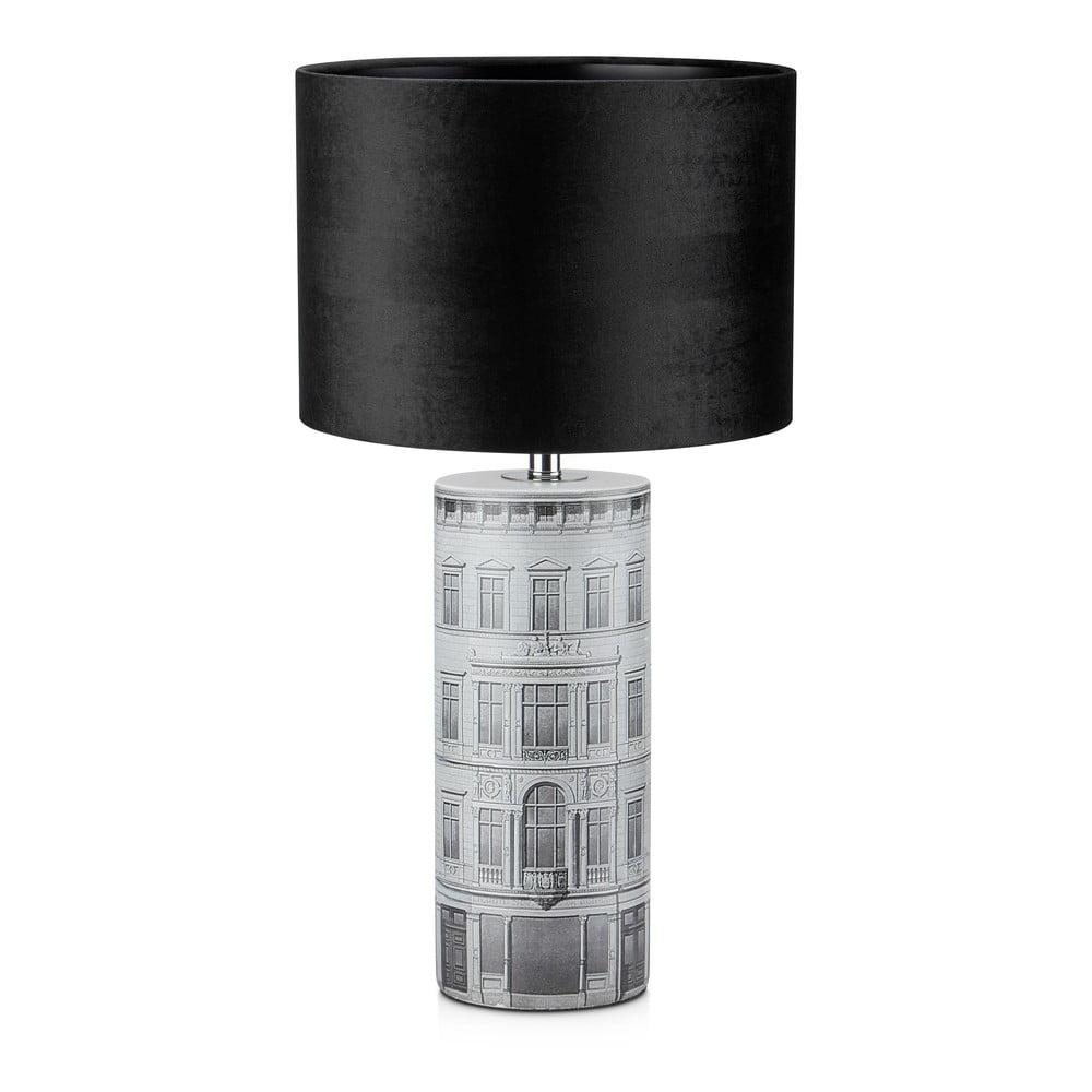 Czarna lampa stołowa Markslöjd ICHI