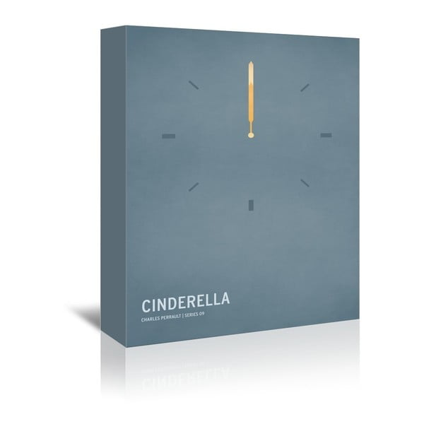 Obraz na płótnie Cinderella With Text