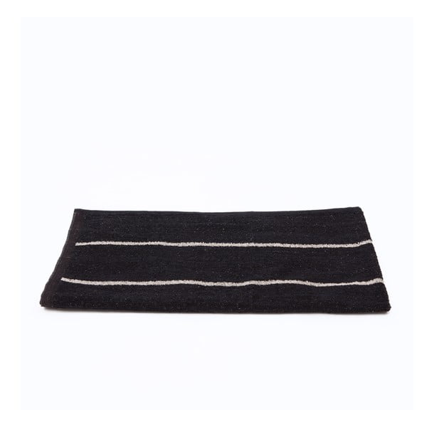 Ręcznik Casa Di Bassi Spa Black, 70x140 cm