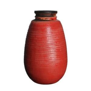 Wazon ceramiczny Latina Orange, 40 cm