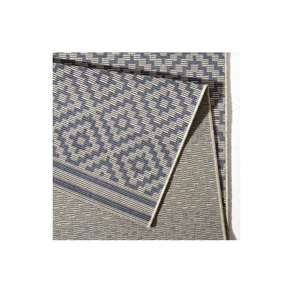 Niebieski dywan Bougari nadający się na zewnątrz Raute, 200 x 290 cm