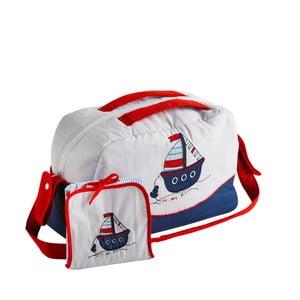 Zestaw torby na ramię i maty do przewijania Naf Naf Little Boat