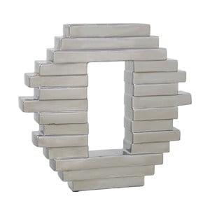 Wazon CIMC Blocks Silver, 33 cm
