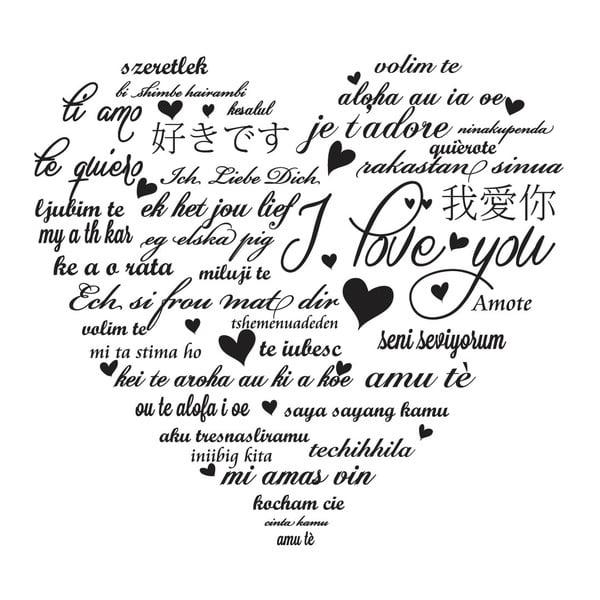 Naklejka dekoracyjna My Love