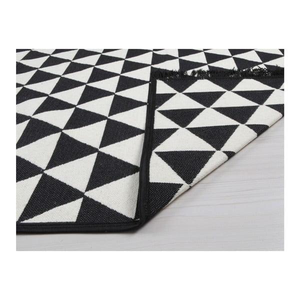 Czarny-biały dywan dwustronny Cihan Bilisim Tekstil Apollon, 120x180 cm