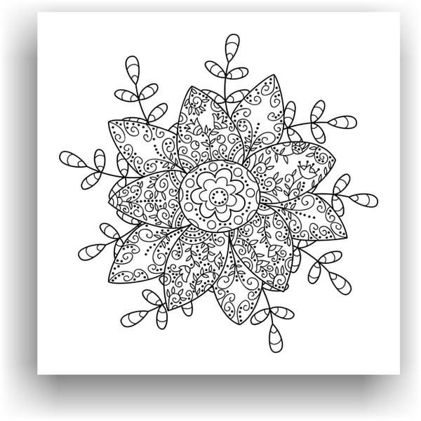 Obraz do kolorowania 87, 50x50 cm
