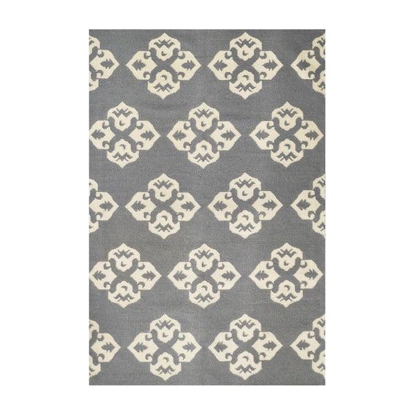 Ręcznie tkany dywan Leona Flowers, 150x245 cm