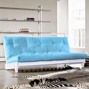 Sofa rozkładana Karup Fresh White/Celeste