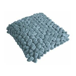Niebieska poduszka ZicZac Pebble, 45x45 cm