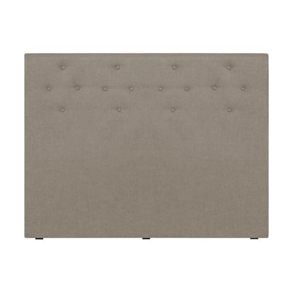 Kremowy zagłówek łóżka Windsor & Co Sofas Phobos, 140x120 cm