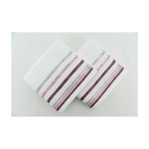 Zestaw 2 ręczników Bianna White, 50x90 cm