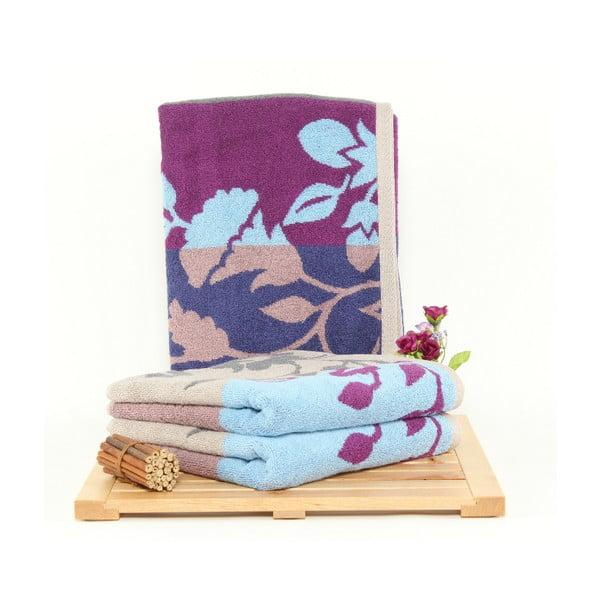 Zestaw 3 ręczników Fenja Sky, 50x100 cm