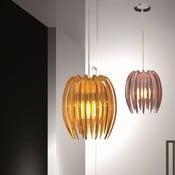Lampa sufitowa Kendia, pomarańczowa