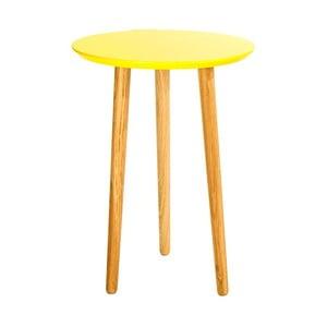 Stolik Blow Yellow 40 x 55 cm