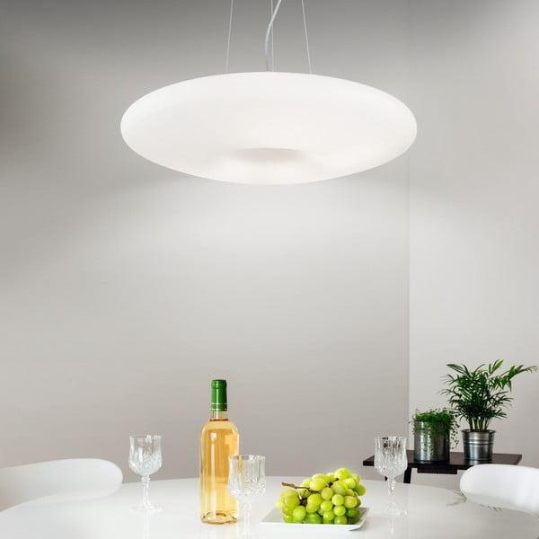 Lampa wisząca Evergreen LightsWhite Steel