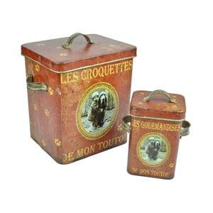Zestaw 2 pojemników Antic Line Croquettes