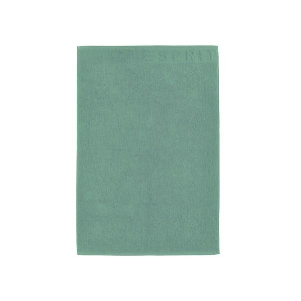 Dywanik łazienkowy Esprit Solid 60x90 cm, zielony